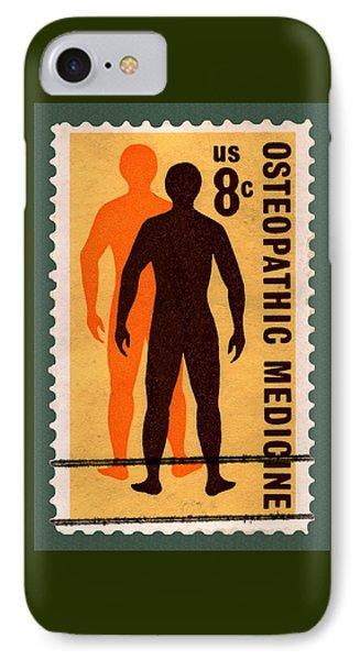 Osteopathic Medicine Stamp IPhone Case