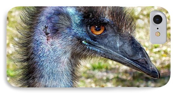 IPhone Case featuring the photograph Ostrich 1 by Dawn Eshelman