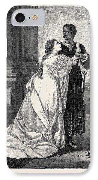 Othello And Desdemona IPhone Case