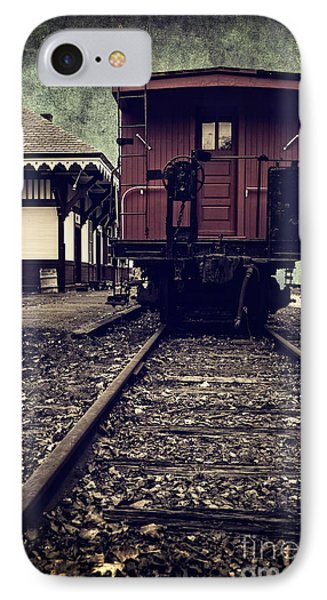 Other Side Of The Tracks Phone Case by Edward Fielding