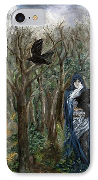 The Raven God IPhone Case by FT McKinstry