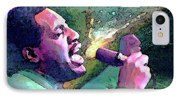 Otis Redding IPhone Case by John Travisano