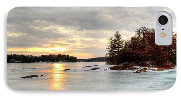Otis Reservoir Sunrise No. 2 IPhone Case