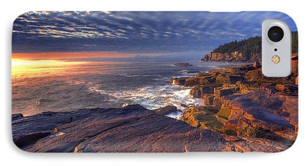 Otter Cove Sunrise IPhone Case by Marco Crupi