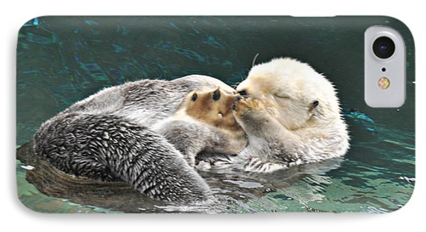 Otter Dreams IPhone Case by Mindy Bench