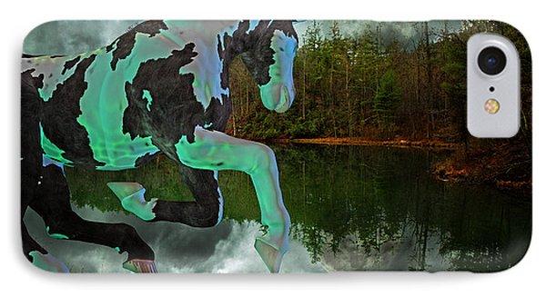 Otter Lake Phantom IPhone Case by Betsy Knapp