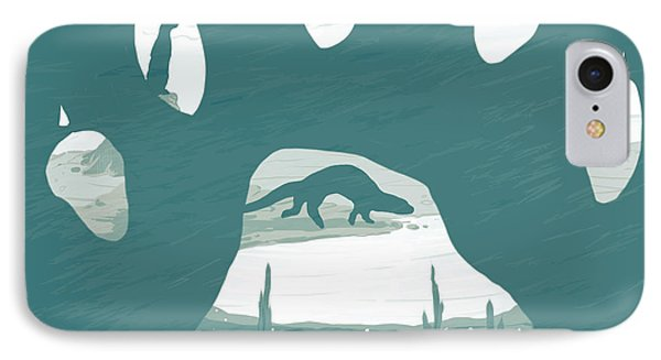 Otter Paw IPhone Case by Daniel Hapi