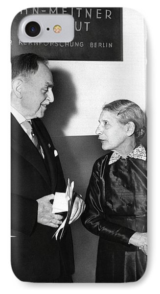 Otto Hahn And Lise Meitner IPhone Case