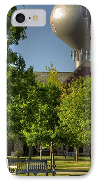 Ou Campus IPhone Case by Ricky Barnard