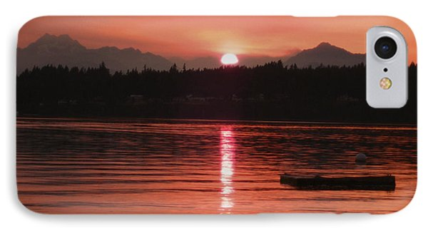 Our Beach At Sunset  IPhone Case by Kym Backland