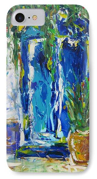 Our Blue Door Phone Case by Khalid Alzayani