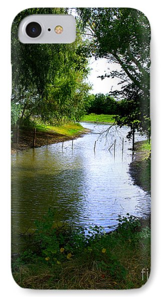 IPhone Case featuring the photograph Our Fishing Hole by Peter Piatt