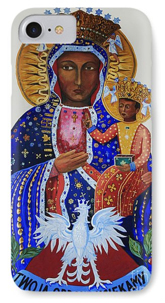 Our Lady Of Czestochowa IPhone Case by Barbara McMahon
