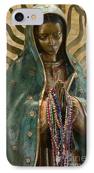 Our Lady Of Guadalupe IPhone Case by John Greim