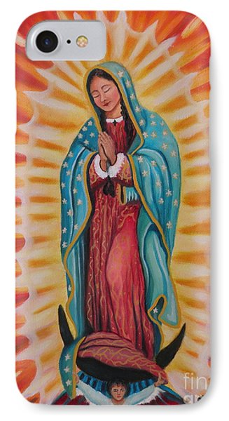 Our Lady Of Guadalupe Phone Case by Lora Duguay
