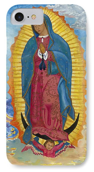 Our Lady Of Guadalupe-new Dawn Phone Case by Mark Robbins