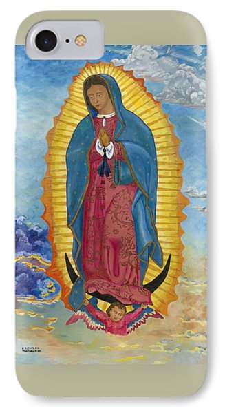 Our Lady Of Guadalupe-new Dawn IPhone Case by Mark Robbins