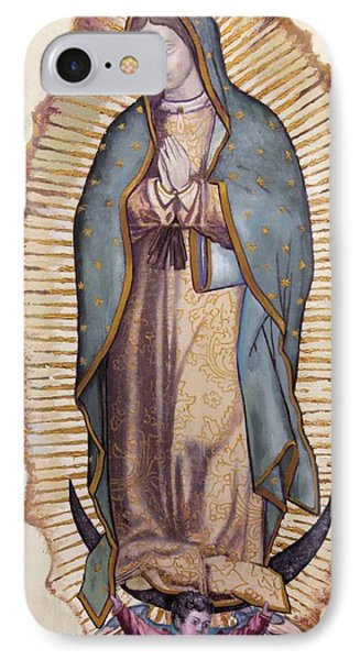 Our Lady Of Guadalupe Phone Case by Richard Barone