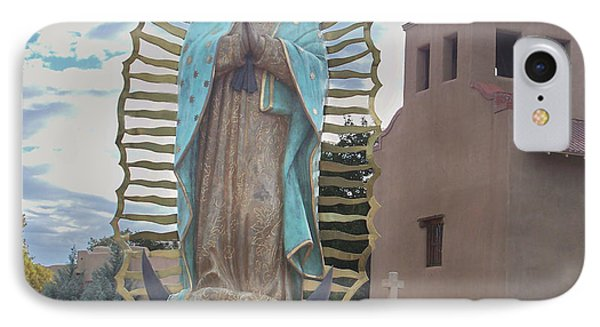 Our Lady Of Guadalupe IPhone Case by Sylvia Thornton