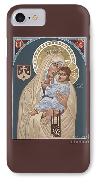 IPhone Case featuring the painting Our Lady Of Mt. Carmel 255 by William Hart McNichols