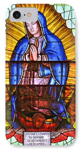 IPhone Case featuring the photograph Our Lady Of Peace by Christine Till