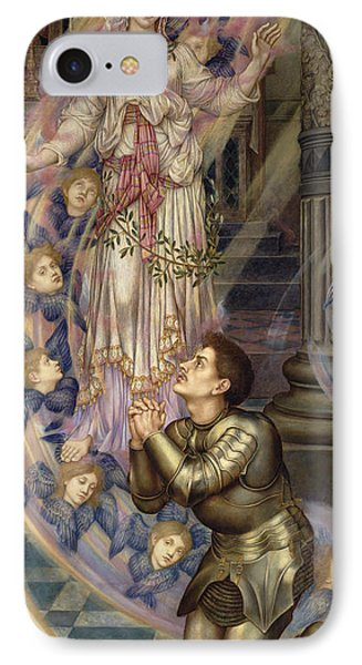 Our Lady Of Peace Phone Case by Evelyn De Morgan