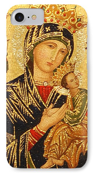 Our Lady Of Perpetual Help  IPhone Case by Philip Ralley