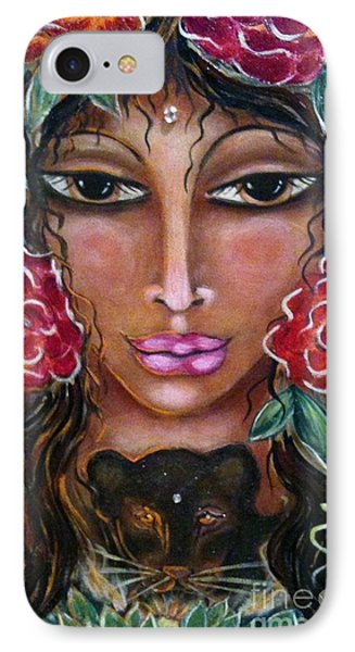 Our Lady Of The Lion Heart Phone Case by Maya Telford