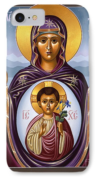 Our Lady Of The New Advent Gate Of Heaven 003 IPhone Case by William Hart McNichols
