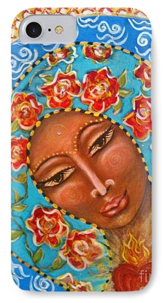 Our Lady Of The Roses Phone Case by Maya Telford