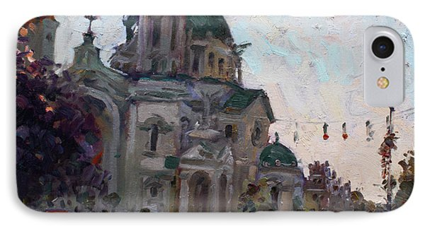 Our Lady Of Victory Basilica IPhone Case by Ylli Haruni