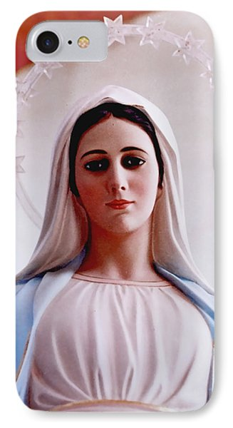 Our Lady Queen Of Peace Statue IPhone Case