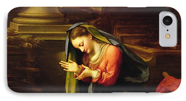Our Lady Worshipping The Child IPhone Case