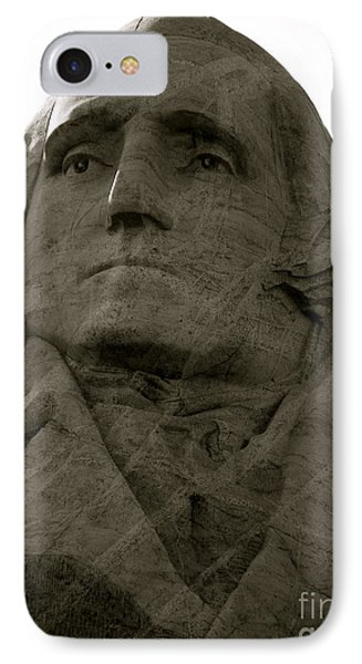 Our Nation's Patriarch IPhone Case by KD Johnson