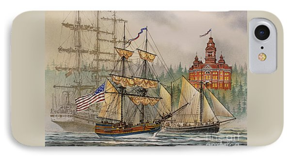 Our Seafaring Heritage Phone Case by James Williamson