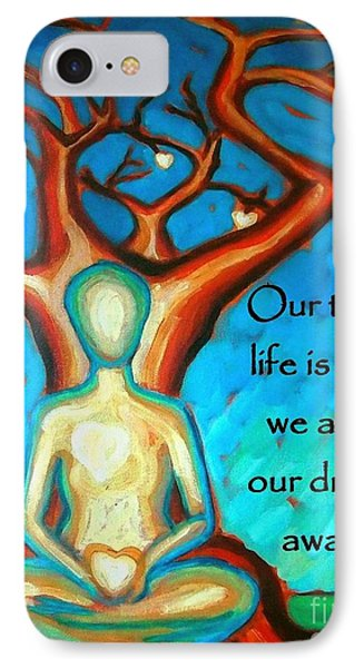 IPhone Case featuring the digital art Our Truest Life by Janet McDonald