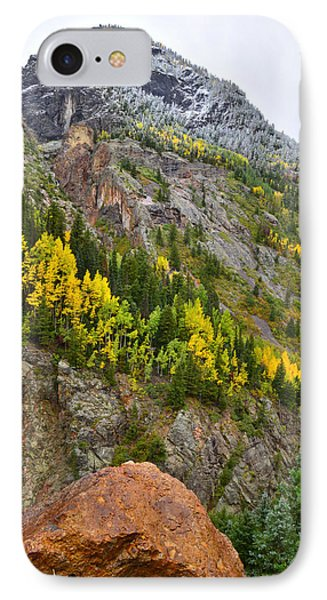 Ouray Canyon Fall Color IPhone Case by Ray Mathis