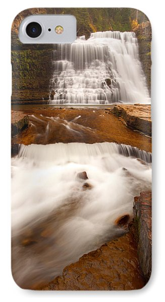 IPhone Case featuring the photograph Ousel Falls by Aaron Whittemore