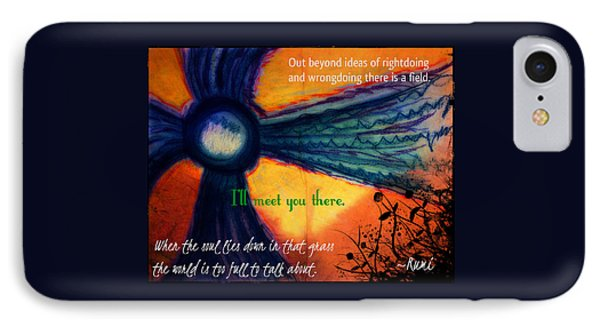 Out Beyond Ideas IPhone Case by Catherine McCoy