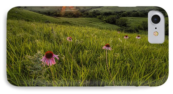 Out In The Flint Hills IPhone Case by Scott Bean