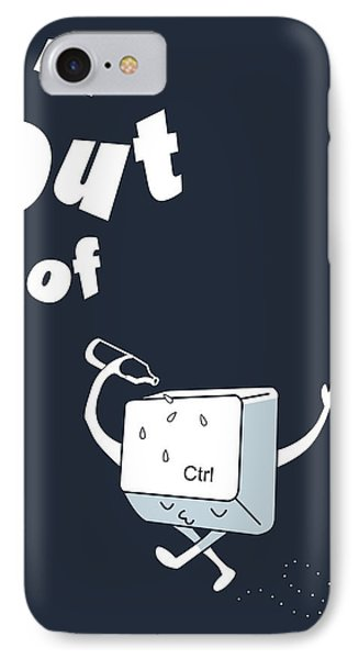 Out Of Ctrl IPhone Case
