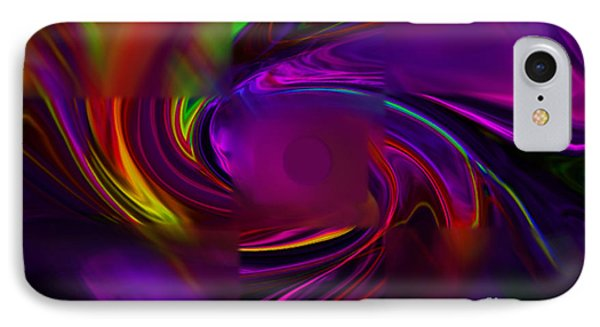 IPhone Case featuring the digital art Out Of Focus by Gayle Price Thomas