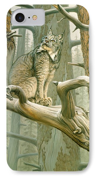 Out Of Reach - Lynx IPhone Case by Paul Krapf