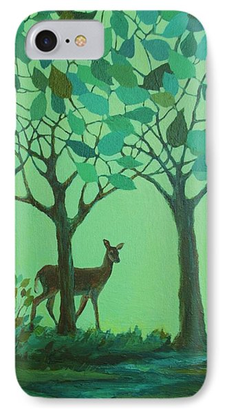 Out Of The Forest IPhone Case by Mary Wolf