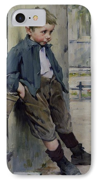 Out Of The Game IPhone Case by Henri Jules Jean Geoffroy