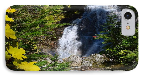 Out Of The Mt Waterfall  IPhone Case by Randy Giesbrecht