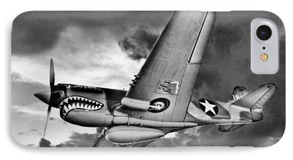 Out Of The Storm Bw Phone Case by JC Findley