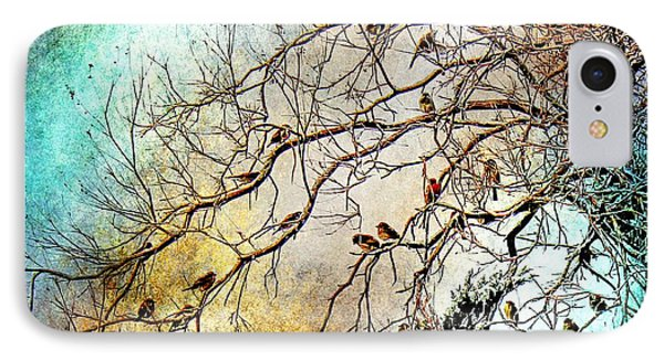 Out On A Limb In Jewel Tones IPhone Case by Barbara Chichester