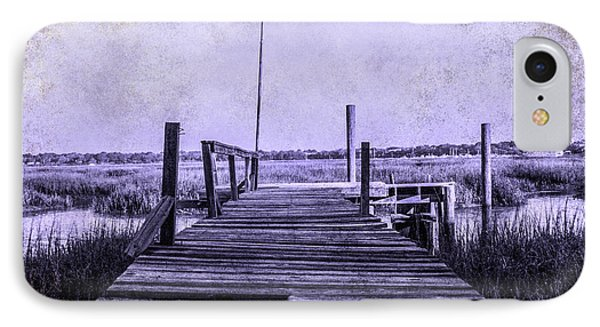 Out On The Pier  Phone Case by Steven  Taylor