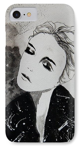 Out On The Town IPhone Case by Tamyra Crossley
